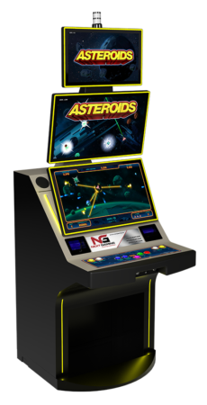 Asteroids Cabinet