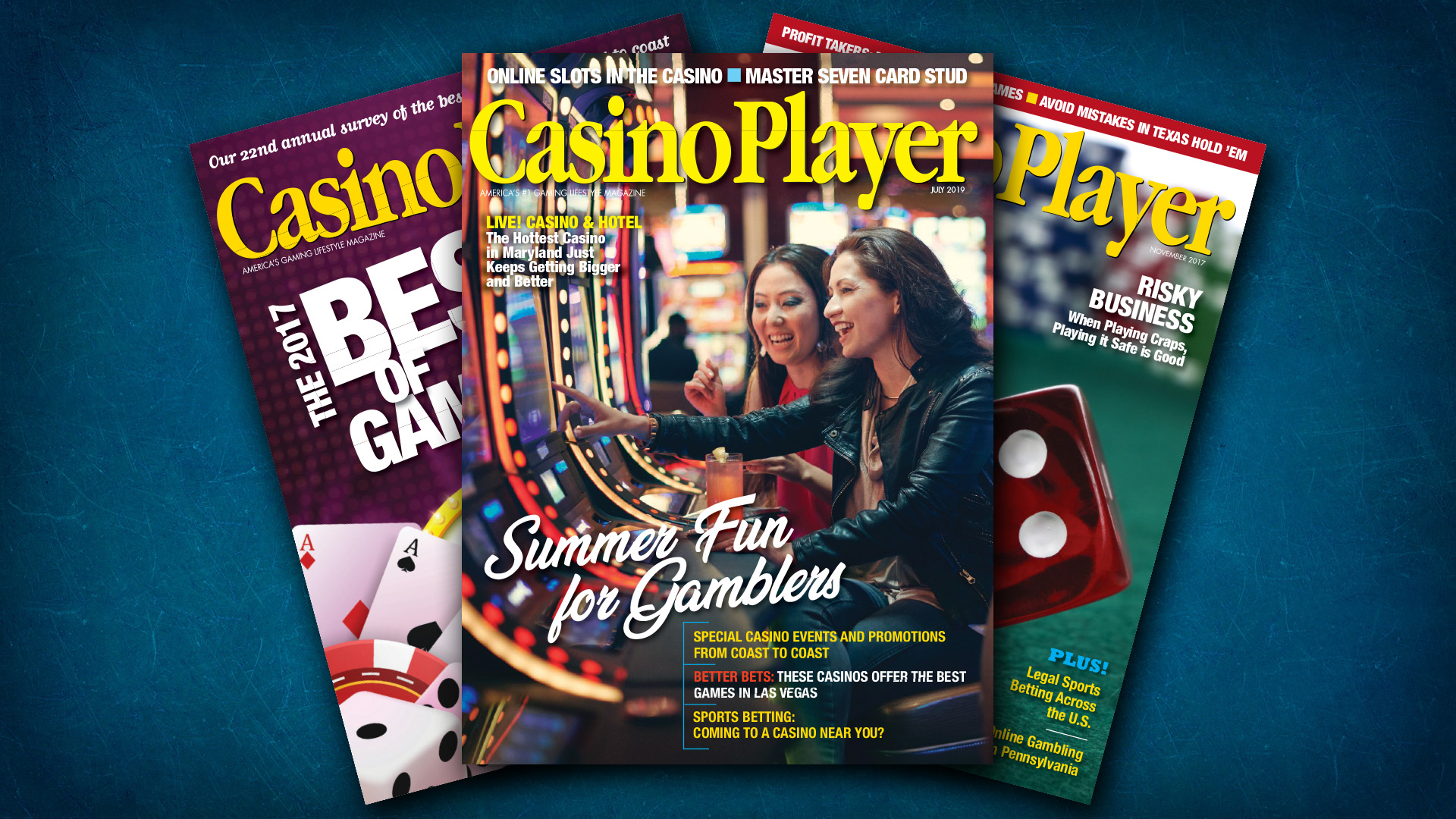 News Image Casino Player July 2019