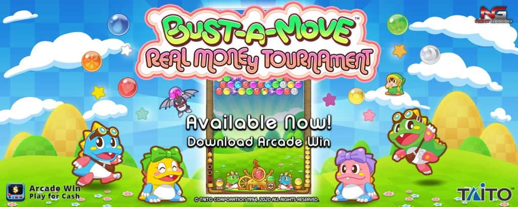 Bust-A-Move Real Money Tournament