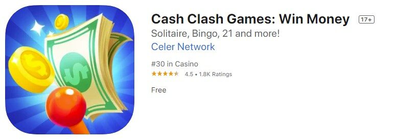 Cash Clash Games Win Money
